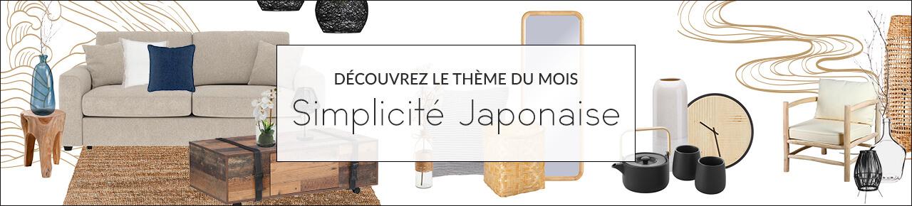 Carnet de tendances - Simplicité Japonaise