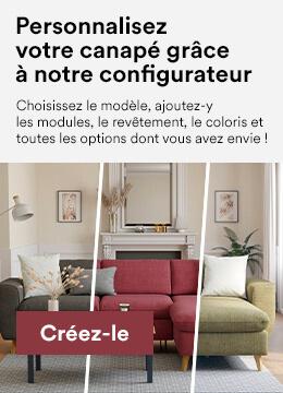 Personnalisez votre canapé