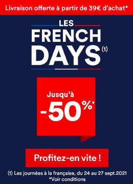 FRENCH DAYS jusqu'à -50%