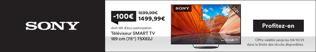 TV SONY 75X82J