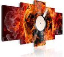 Tableau Vinyl Brûlant 100 X 50 Cm