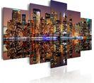 Tableau Nyc Reflet Dans Le Miroir 100 X 50 Cm