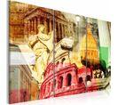 Tableau Rome Charmant 120 X 80 Cm