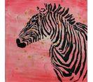 Tableau Peint Huile Kalahari - 3.8 X 70 Cm