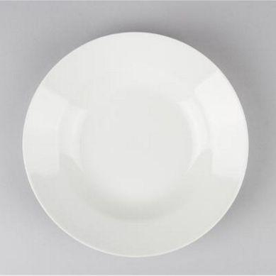 Lot de 6 Assiettes PlatesRonde 26cm Ivoire