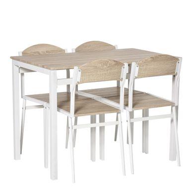 Ensemble Table Et Chaises Blanc Pas Cher But Fr