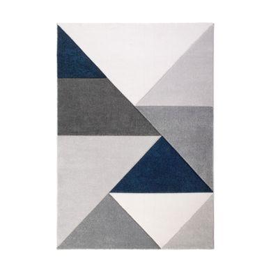 tapis salon et chambre bleu