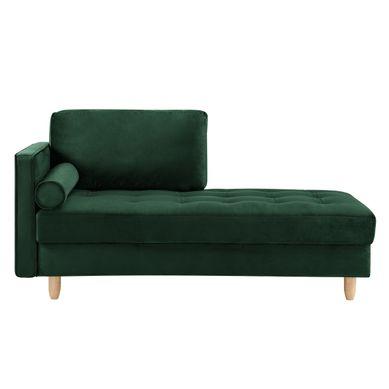 BOUDOIR  Tissu velours vert