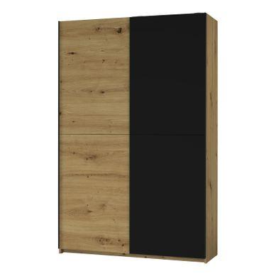 L.125 cm FAST  imitation chêne artisan/ noir