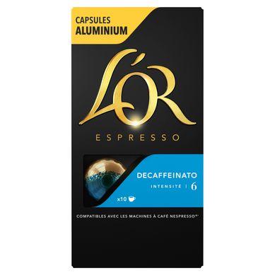 L'Or  EXPRESSO DECAFFEINATO X10