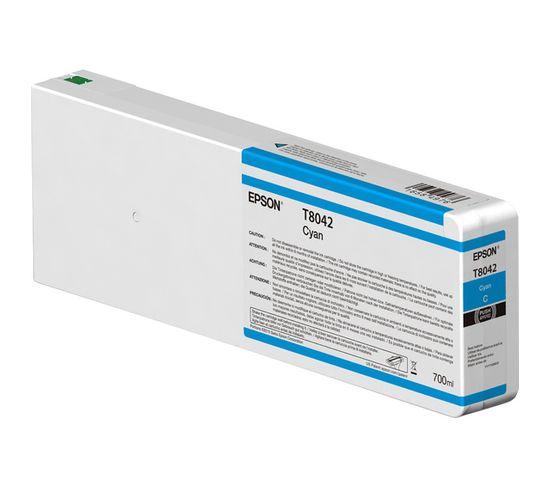 Cartouches D'encre Singlepack Cyan T804200 Ultrachrome Hdx/hd 700ml