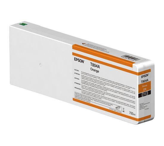 Cartouches D'encre Singlepack Orange T804a00 Ultrachrome Hdx 700ml