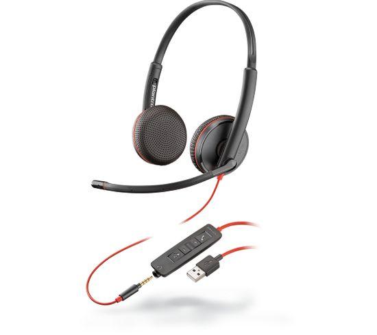 Casque Micro Filaire Blackwire C3225 Noir