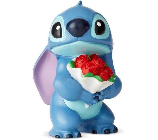 Figurine - Disney Showcase - Stitch Flowers - Licence Officielle Lilo Et Stitch - Enesco