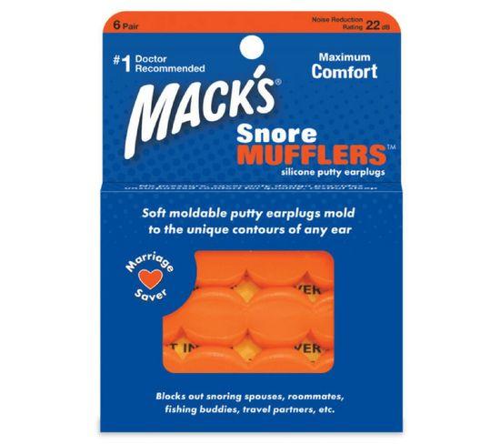 Bouchons D'oreilles Mack's Snore Mufflers