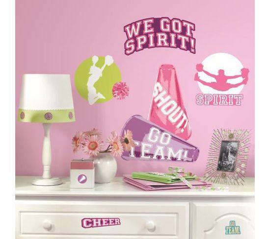 Stickers Repositionnables Sur Le Thème Des Pom Pom Girls - Pom Pom Girl