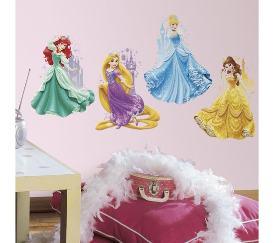 Stickers Princesse Disney Château Repositionnables