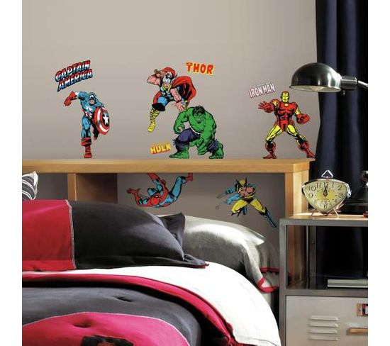 Stickers Repositionnables Marvel Classic - Marvel Classic