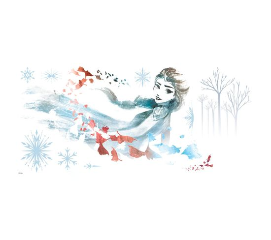 Stickers Elsa La Reine Des Neiges 2 Disney Aquarelles Et Dessins