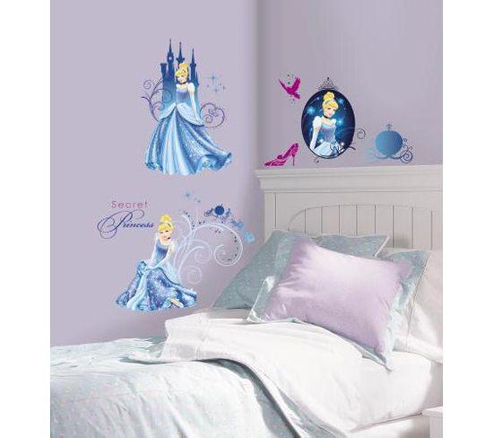 Stickers Repositionnables De La Princesse Cendrillon, Disney - Disney Princesse Cendrillon