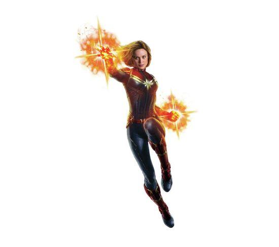 Sticker Geant Avengers Captain Marvel H 115 Cm
