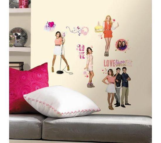 Stickers Repositionnables Violetta, Série Disney - Disney Violetta