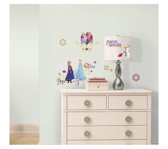Stickers Repositionnables Brilliants La Reine Des Neiges, Disney - La Reine Des Neiges