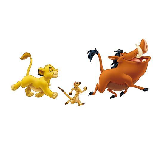 Stickers Géant Simba Et Timon et Pumba Roi Lion Disney