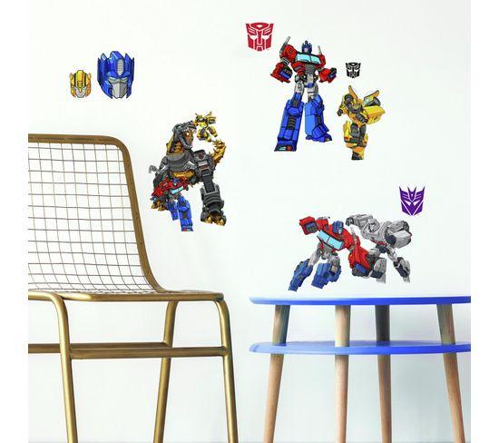21 Stickers Transformers Cyberverse