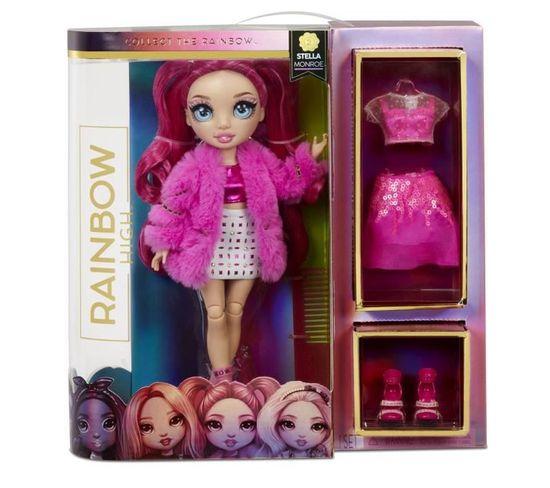 Poupée Rainbow High Fashion Doll Stella Monroe Fuschia