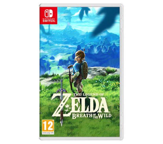 Jeu Vidéo Nintendo Switch The Legend Of Zelda: Breath Of The Wild, Switch