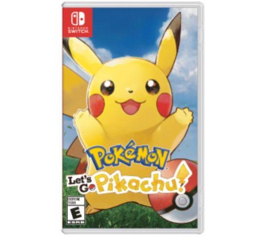 Jeu Vidéo Nintendo Switch Pokémon: Let's Go, Pikachu!