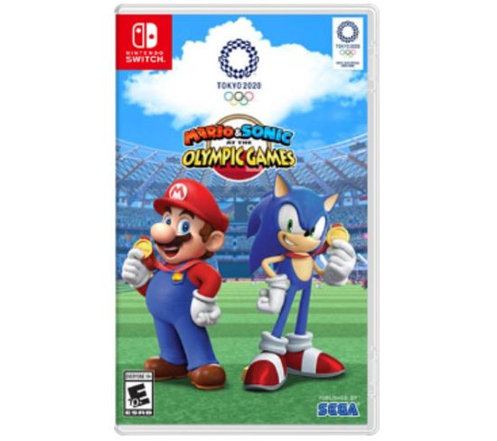 Jeu Vidéo Nintendo Switch Mario et Sonic At The Olympic Games Tokyo 2020