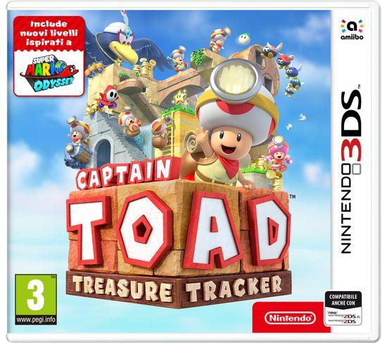 Jeu Vidéo Nintendo 3ds Captain Toad: Treasure Tracker, 3ds