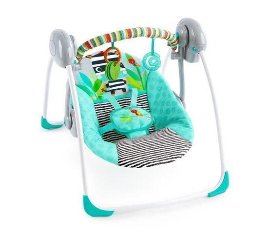 Balancelle Compacte bébé Zig Zag Zebra