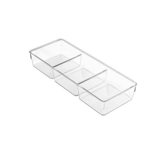 Bac De Rangement Transparent 3 En 1