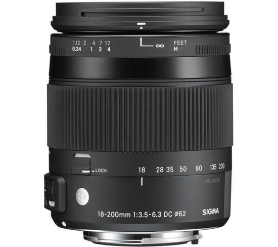 Zoom 18-200 Dc Os Canon