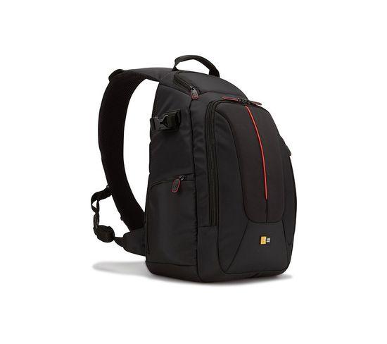 Case Logic Nylon Sac À Dos Compact Noir Et Rouge - Dcb308k