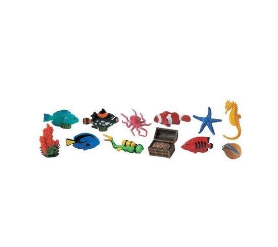 12 Figurines Recifs Coralliens