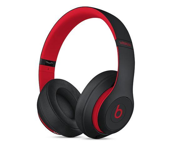 Casque Bluetooth Studio 3 Noir, Rouge