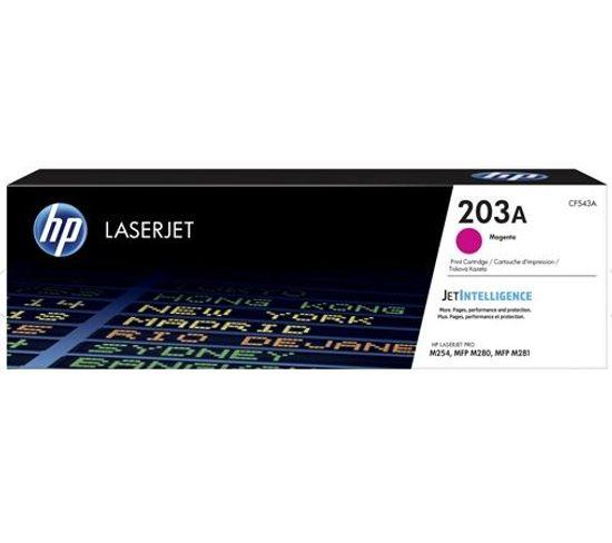 203a Toner Laserjet Magenta Authentique Cf543a Pour  Color Laserjet Pro M254/m280/m281