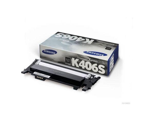 Cartouche De Toner Noir Samsung Clt-k406s (su118a) Pour Ss062b/clp-365 Clx-3300/clx-3305