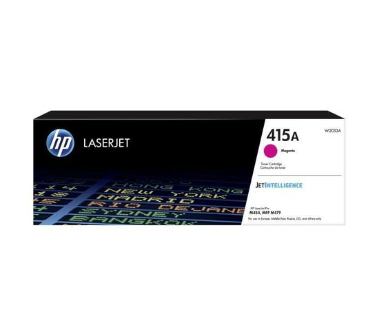 Cartouche Toner 415a - Magenta - Laser - 2100 Pages