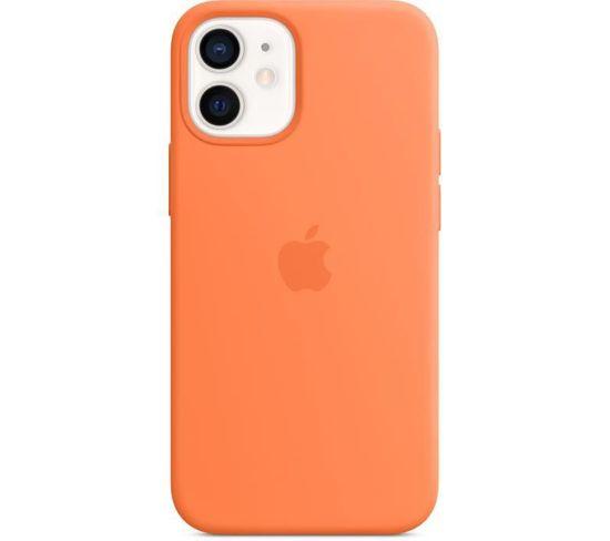 Coque En Silicone iPhone 12 Mini Avec Magsafe - Kumquat