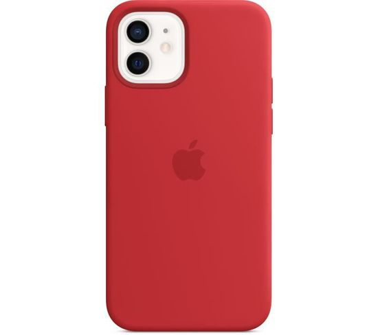Coque En Silicone iPhone 12   12 Pro Avec Magsafe - (product)red