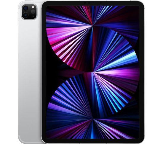 """iPad Pro 2021 11"""" Wifi + Cellulaire 5g 256go Argent"""