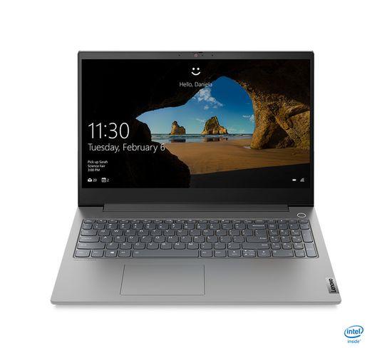 """PC Portable Thinkbook 15p 15.6"""" I7 16 Go Gris 1000 Go"""