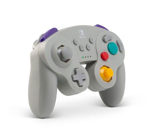 Gamecube Manette De Jeu Nintendo Switch Bluetooth Gris