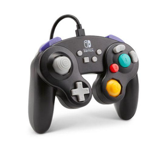 1507843-01  Manette De Jeu Nintendo Switch Usb Noir