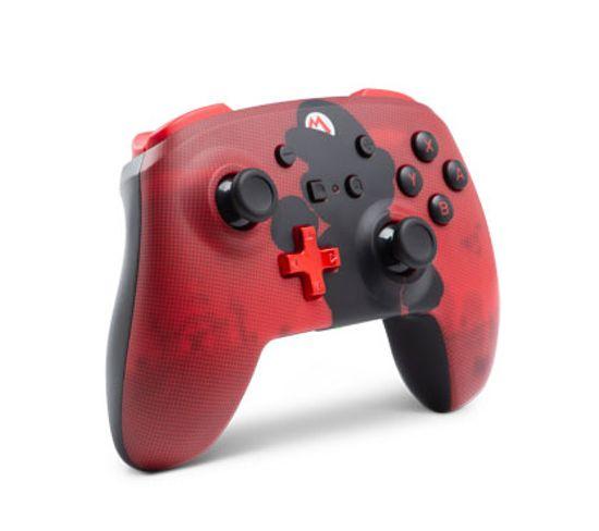 1508192-01  Manette De Jeu Nintendo Switch Bluetooth Rouge